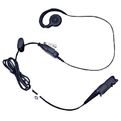 (Motorola PMLN5727A PMLN5727 MagOne Swivel Earpiece with inline PTT and Microphone)