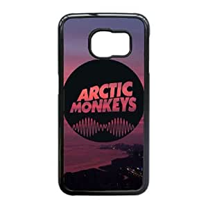 Protection Cover Samsung Galaxy S6 Edge Cell Phone Case Black Arctic Monkeys Lvakv Personalized Durable Cases