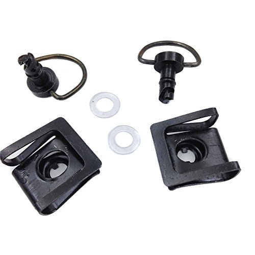 - SMT-Quick Release D-Ring Turn Race Fairing Fastener Compatible With Ktm Ducati black [B00RNIXDLK]