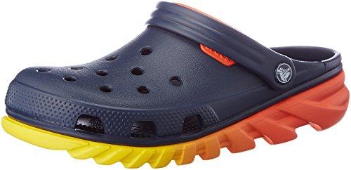 Orange Crocs Clog Navy Ombre Unisex Duet Mule Max Ann1f0zWq