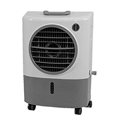 Hessaire Products MC18M Mobile Evaporative Cooler, Small, Gray