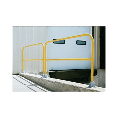Vestil Pipe Safety Railing - Steel, 24in.L, Model# VDKR-2