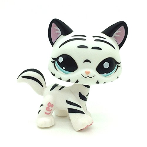 ZAD Littlest Pet Shop Collection LPS Figure Loose Very Rare Leopard Cat #1498
