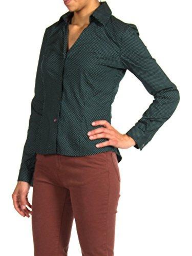Jeans a Donna Vestibilit Pois per Carrera Camicia 292 anUd8xqvvw