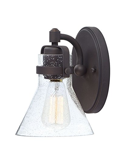 (Maxim Lighting 26111CDOI Seafarer-Bath Vanity Light, 8.5