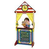 ALEX Toys - Pretend & Play Floor Standing Puppet Theater W/ Clock 23K