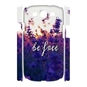 Be Free Brand New 3D Cover Case for Samsung Galaxy S3 I9300,diy case cover ygtg581353
