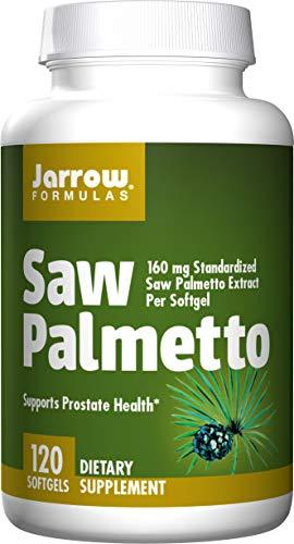 Jarrow Formulas Saw Palmetto, Supports Prostate Health, 120 Softgels