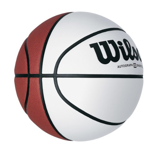 Autograph Basketball - Wilson Official Size Autograph Basketball, Brown