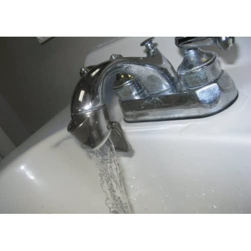 delicate FLIPPER Faucet Fountain, Chrome Finish