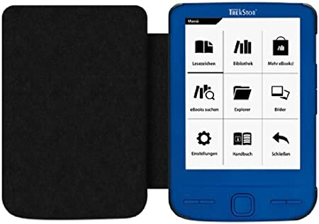 TrekStor 30400 - Funda eBooks para Pyrus MINI 30400, negro: Amazon ...