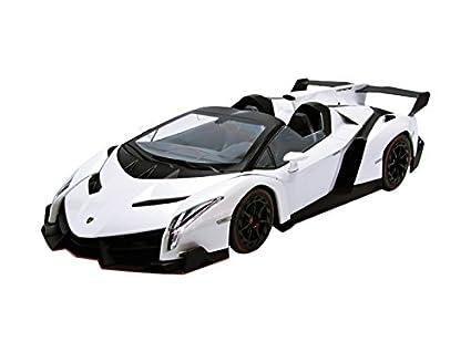 京商オリジナル 1/18 ランボルギーニ ヴェネーノ ロードスター ホワイト/レッドライン 完成品