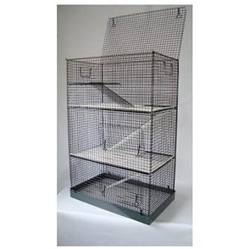 3 Tier Ferret/rata/Chinchilla/Degu Cage: Amazon.es: Productos para ...