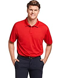 Russell Athletic Mens Standard Dri-Power Performance Golf Polo