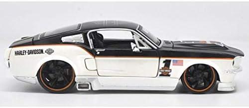 YN モデルカー 1:24フォードマスタングGT2011合金車のモデルオリジナルシミュレーションメタルスポーツカーコレクションギフトの装飾品 ミニカー (Color : White)