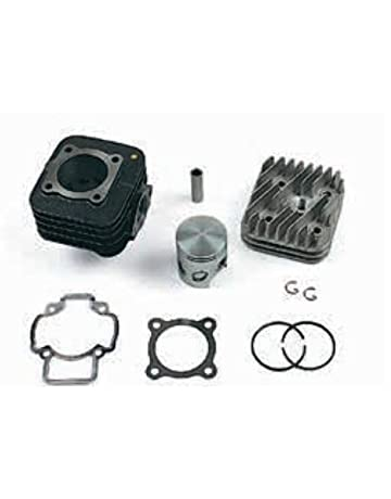 Unbranded 50 CC Cilindro Gruppo Termico PISTONE Set Kit per Piaggio Zip 50 SSL Free 2T