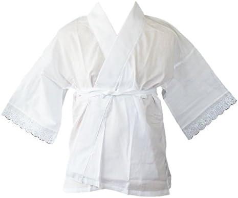 [hga165][日本製]クレープ肌着 バチ衿 冬用半衿付き(M,L,LLサイズ)[きもの日和]