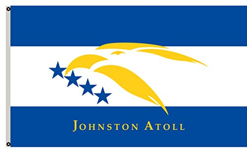 Fyon The U.S. States Uninhabited Territory Banner Johnston Atoll Flag 6x10ft