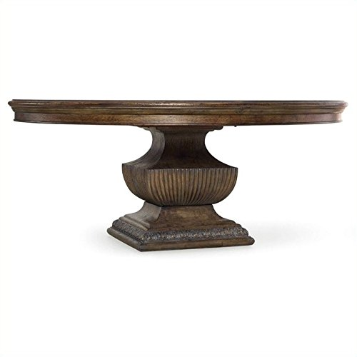 Hooker Furniture Rhapsody Round Dining Table - Rustic Walnut