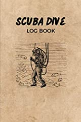 Record all your dives in this handy diving logbook       6x9 and entires for 200 dives