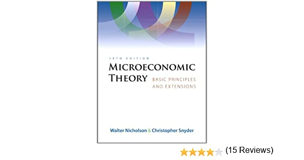 Microeconomic theory book only 9780324585070 economics books microeconomic theory book only 9780324585070 economics books amazon fandeluxe Image collections