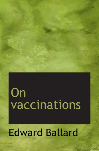 On vaccinations ebook