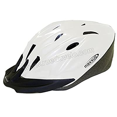 Casque vélo blanc 14 L/XL