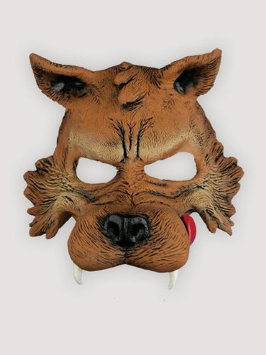 Big Bad Wolf Half Mask Adult Accessory - coolthings.us