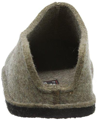 Haflinger Smily - Zapatilla de estar Por casa Unisex Adulto Marrón - Braun (Torf 550)