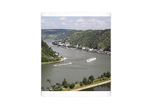 Photo Mug of River Rhine gorge from Loreley (Lorelei)