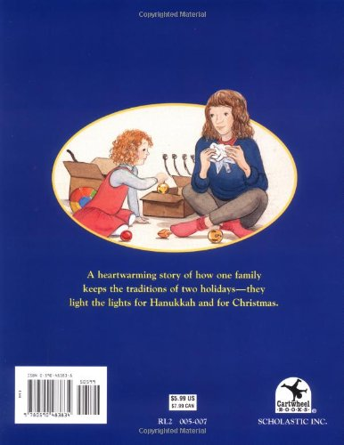 Light The Lights! A Story About Celebrating Hanukkah And Christmas by Cartwheel (Image #1)
