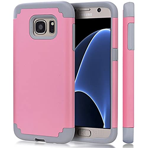 S7 Case,Galaxy S7 Case,Kmall Hybrid Dual Layer Heavy Duty Slim Impact Scratch Resist Shockproof Full-Body Soft Sales