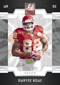 Dwayne Bowe - Kansas City Chiefs - 2009 Donruss Elite NFL Trading Card (City 2009 Single Elite)
