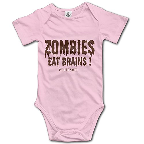 Best Zombie Outfits (Zombies Eat Brains Short Sleeve Baby Outfits Cute Romper Climb Clothes Kid Toddler Best Sale)