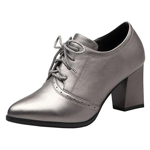 Shoes Women Bootie up Autumn Formal Coolcept Gun Lace Color 4dYwq6WI