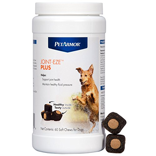 PETARMOR 60 Count Joint-Eze Plus Bottle Chewable for Dogs -