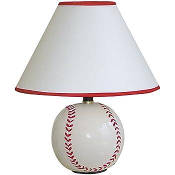 ORE International 31604BB 15H Baseball Table Lamp - - Amazon.com