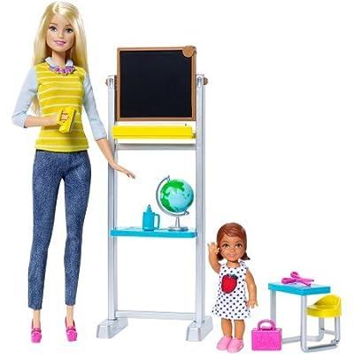 Barbie Career Teacher Doll and Playset: Toys & Games [5Bkhe1003770]