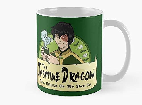 The Jasmine Dragon Tea House - With Prince Zuko Mug, Standard Mug Mug Coffee Mug - 11 oz Premium Quality printed coffee mug - Unique Gifting ideas for Friend/coworker/loved ones