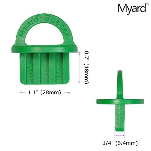 Review Myard 1/4″ Inch (Green,