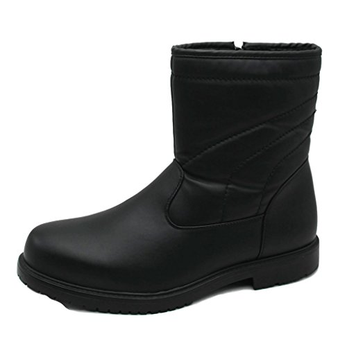 All Waterproof Mens Insultated Dressy Lined Boots Weather Fur Classic Comfortable Skadoo TqwfxPSFS