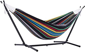 Vivere 9-Foot Cotton Hammock with Stand