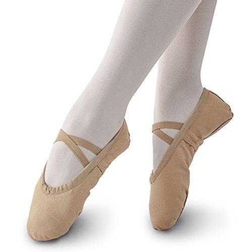 Little Slipper Ballet Women Toddler Shoe STELLE Boy Shoe Yoga Brown Kid Dance Canvas Big Kid Girls Ballet Fwvtq