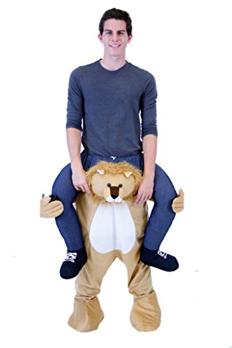 Piggyback Ride On Lion Teen Costume (Teen) ()