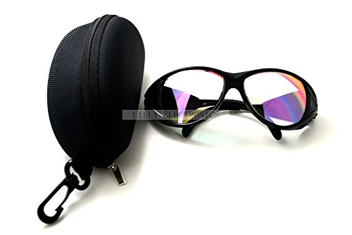 Protective Goggles Glasses Eyewear for 980nm Ir Diode Lasers Od +4 with Case