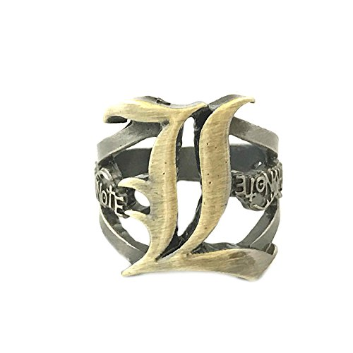 Death Note Anime Costume Cosplay Size 9 Ring w/Gift Box by Superheores