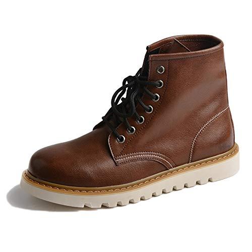 Adulti Stivali Autunno Inverno Dr Martens Invernali Pelle 40 Brown Classica in Nera Antinfortunistici Pelle Stivali Stivali Stivali Alta E EtRwpqt