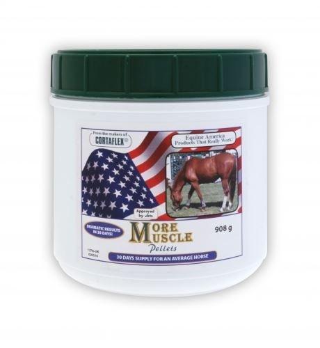 Equine America Mehr Muskel - Auswahl unter Lösung oder Pellets