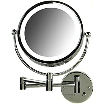 Amazon Com Ovente Wall Mounted Vanity Makeup Mirror 8 5