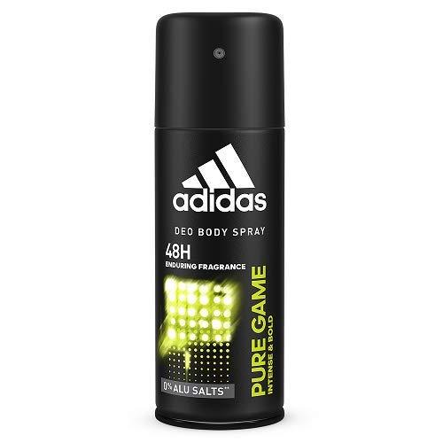 Pure Game 5oz. Deo Spray Men Spray by Adidas (Spray Deodorant Pulse Body)